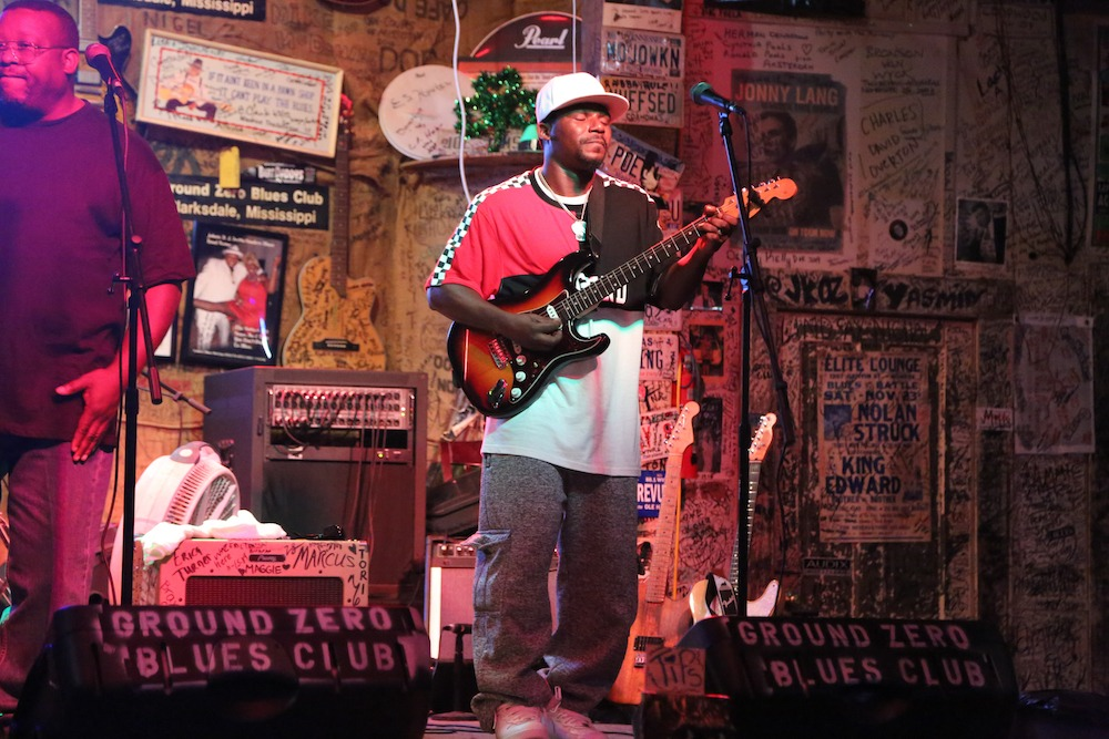 Anthony Sherrod at Ground Zero Blues Club