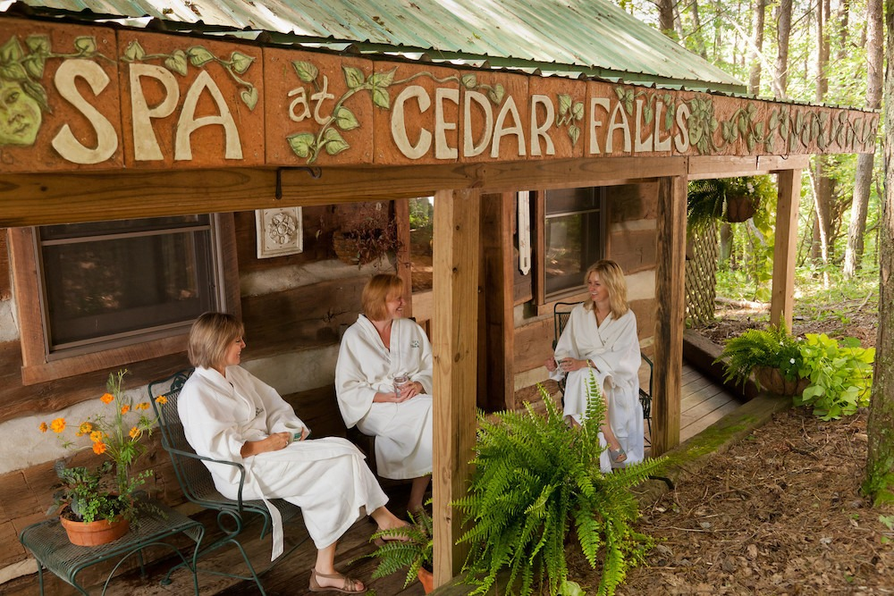 spa at Inn & Spa at Cedar Hills in Hocking Hills
