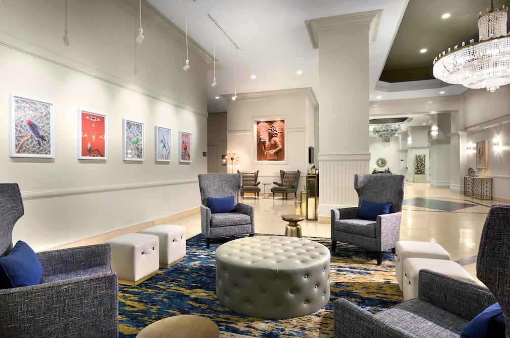 lobby DeSoto Savannah