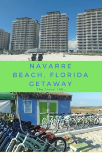 Pinterest pin for Navarre beach florida