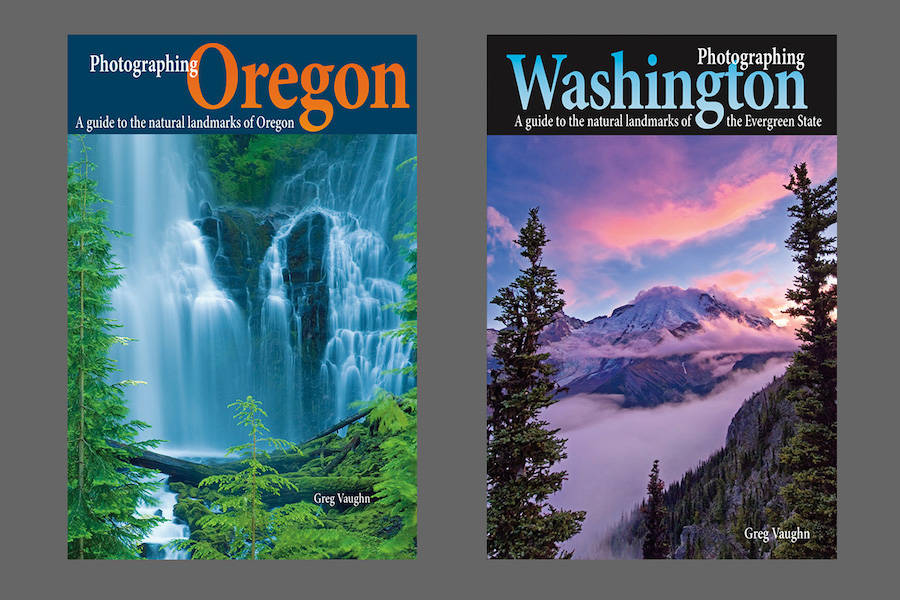 two good travel books on Oregon and Washington