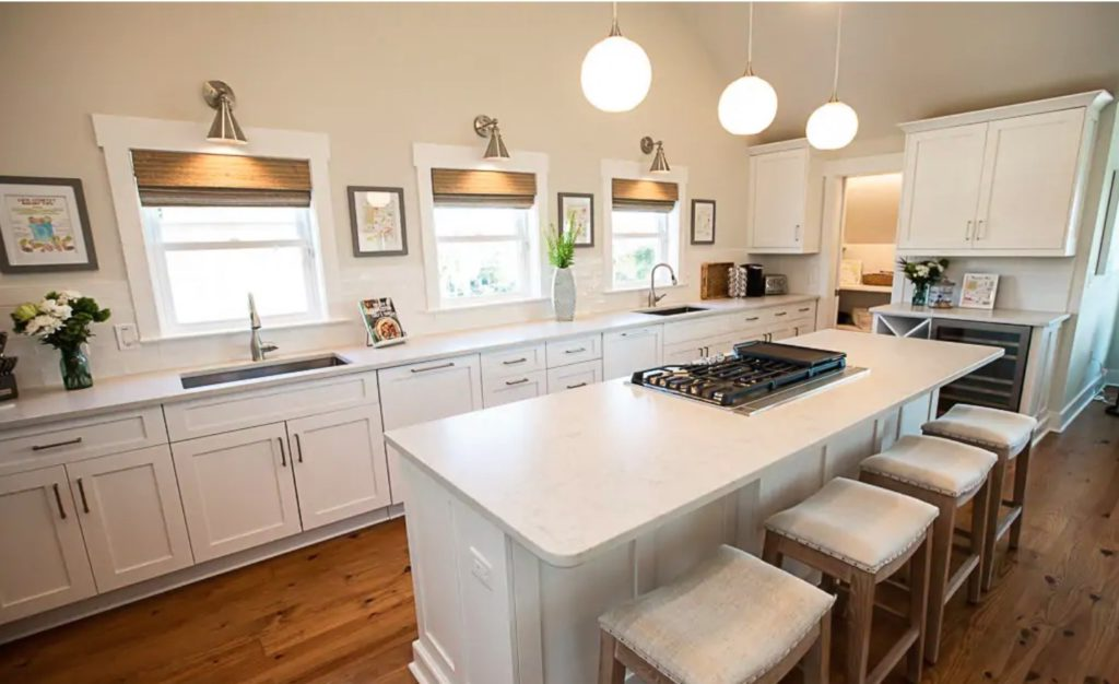 kitchen of Isle of Palms Airbnb