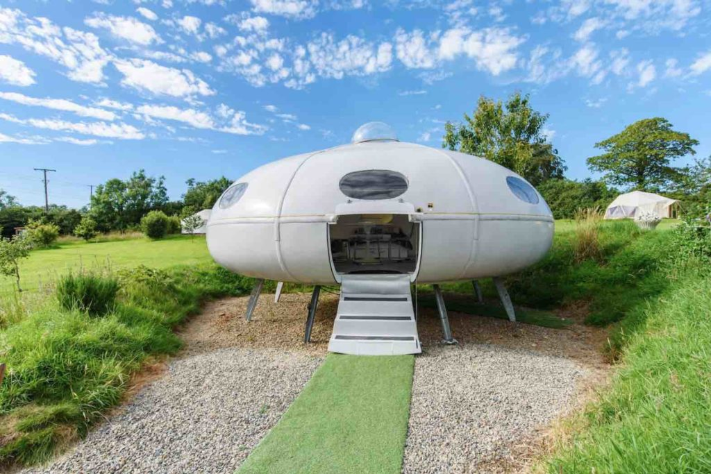 Flying Saucer Airbnb in United Kingdom