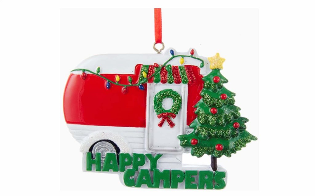 happy campers christmas ornament for travel 100 gift guide